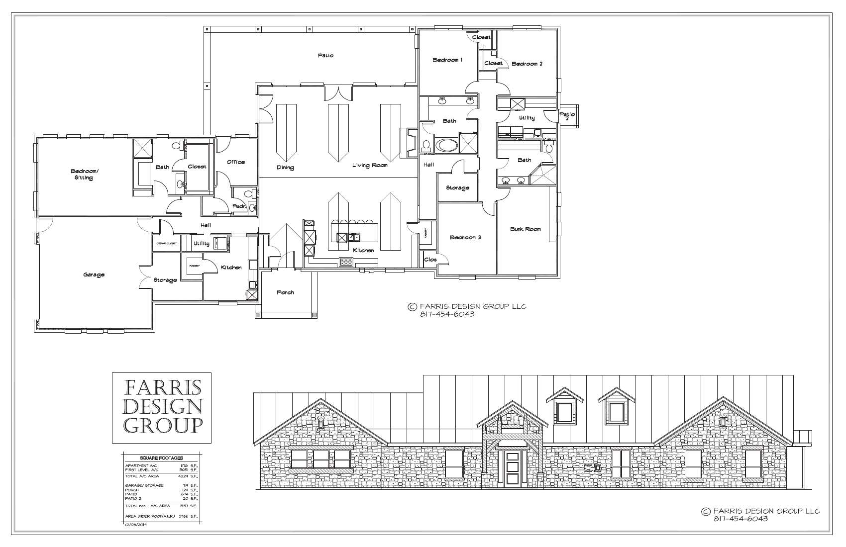 Home farris design group llc custom home plans for Design homes llc